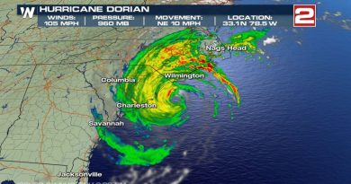 New Hanover County registrants seeking shelter from Hurricane Dorian will be offered a location at the jail. . . away from their family