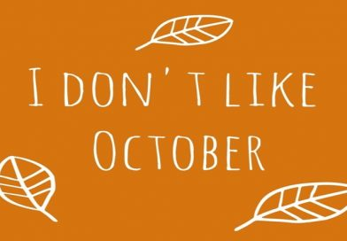 Hey October, just leave . . .