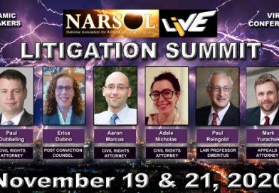 NARSOL LIVE Litigation Summit
