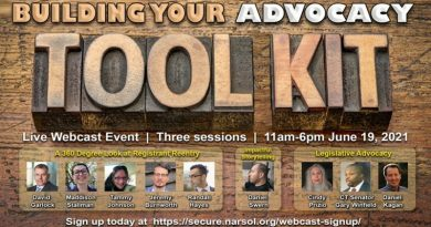 NARSOL webcast event: Building Your Advocacy Toolkit